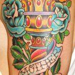 фото рисунок тату факел от 07.02.2018 №163 - torch tattoo - tatufoto.com