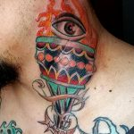 фото рисунок тату факел от 07.02.2018 №165 - torch tattoo - tatufoto.com