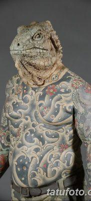 фото тату Игуана от 09.02.2018 №010 – Iguana tattoo – tatufoto.com