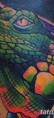 фото тату Игуана от 09.02.2018 №020 – Iguana tattoo – tatufoto.com 23623462