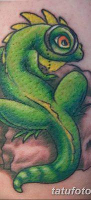 фото тату Игуана от 09.02.2018 №024 – Iguana tattoo – tatufoto.com