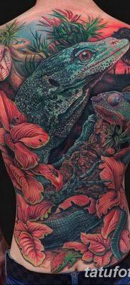 фото тату Игуана от 09.02.2018 №049 – Iguana tattoo – tatufoto.com