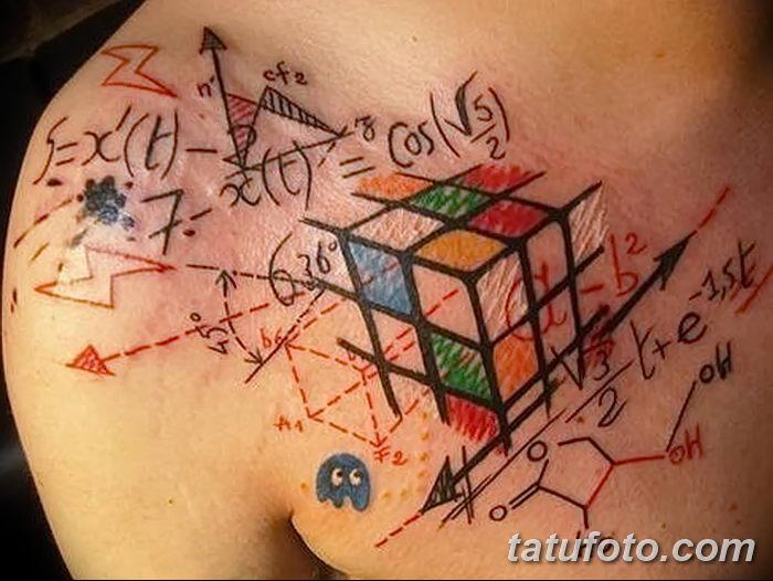 Значение тату «Кубик Рубика»