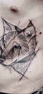 фото тату белый волк от 07.02.2018 №006 – white wolf tattoo – tatufoto.com