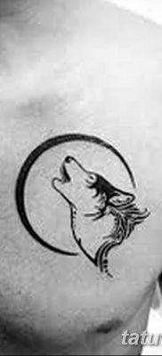 фото тату белый волк от 07.02.2018 №017 – white wolf tattoo – tatufoto.com