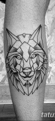 фото тату белый волк от 07.02.2018 №032 – white wolf tattoo – tatufoto.com