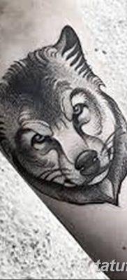 фото тату белый волк от 07.02.2018 №046 – white wolf tattoo – tatufoto.com