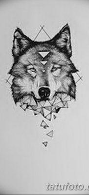 фото тату белый волк от 07.02.2018 №048 – white wolf tattoo – tatufoto.com