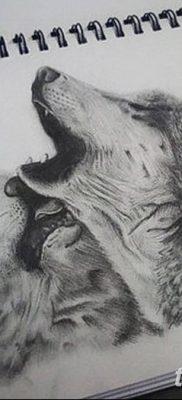 фото тату белый волк от 07.02.2018 №055 – white wolf tattoo – tatufoto.com