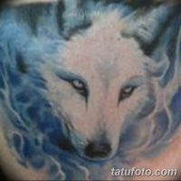 Значение тату белый волк