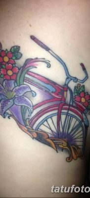 фото тату велосипед от 10.02.2018 №012 – tattoo bicycle – tatufoto.com