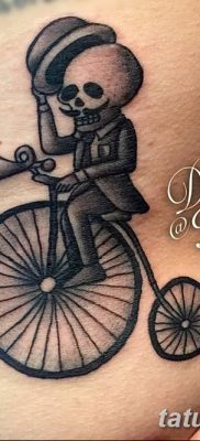фото тату велосипед от 10.02.2018 №025 – tattoo bicycle – tatufoto.com