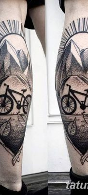 фото тату велосипед от 10.02.2018 №049 – tattoo bicycle – tatufoto.com