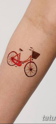 фото тату велосипед от 10.02.2018 №148 – tattoo bicycle – tatufoto.com