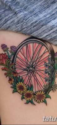 фото тату велосипед от 10.02.2018 №158 – tattoo bicycle – tatufoto.com