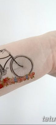 фото тату велосипед от 10.02.2018 №160 – tattoo bicycle – tatufoto.com