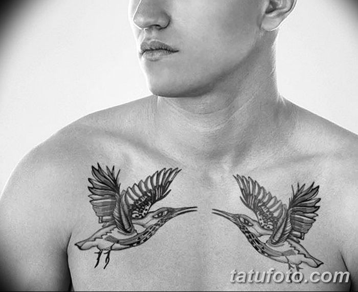 фото тату голубки от 02.02.2018 №036 - tattoo of the dove - tatufoto.com