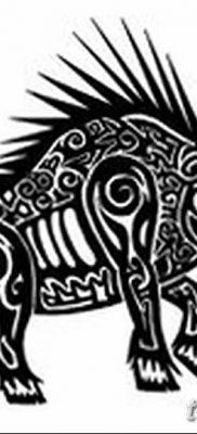 фото тату кабан от 12.02.2018 №002 – tattoo boar – tatufoto.com