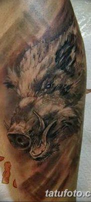 фото тату кабан от 12.02.2018 №018 – tattoo boar – tatufoto.com 26234234