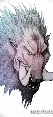 фото тату кабан от 12.02.2018 №028 – tattoo boar – tatufoto.com