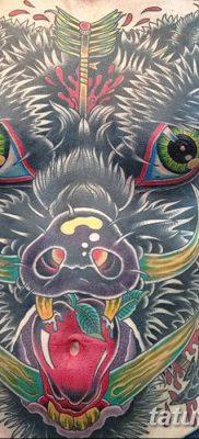 фото тату кабан от 12.02.2018 №051 – tattoo boar – tatufoto.com