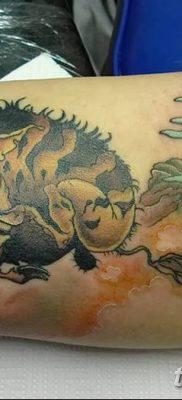 фото тату кабан от 12.02.2018 №059 – tattoo boar – tatufoto.com