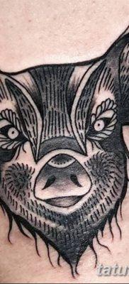 фото тату кабан от 12.02.2018 №061 – tattoo boar – tatufoto.com
