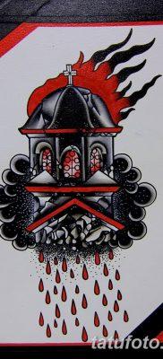 фото тату купола церкви от 19.02.2018 №007 – church dome tattoo – tatufoto.com