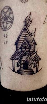 фото тату купола церкви от 19.02.2018 №010 – church dome tattoo – tatufoto.com