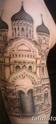 фото тату купола церкви от 19.02.2018 №036 – church dome tattoo – tatufoto.com