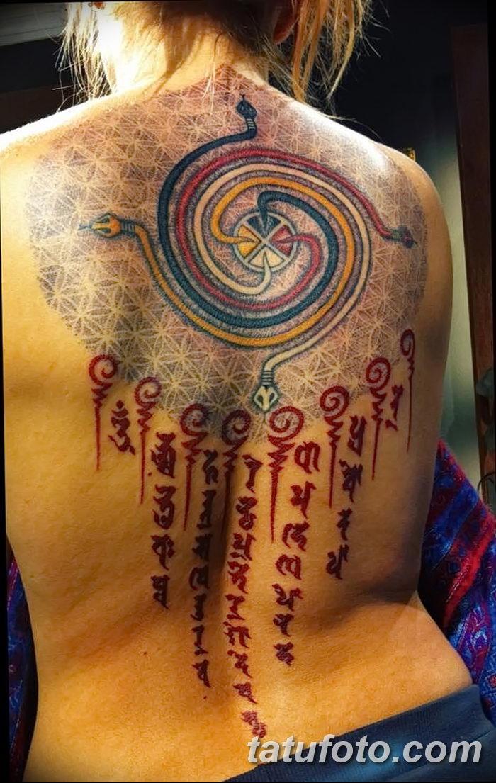фото тату мантры от 07.02.2018 №065 - mantra tattoo - tatufoto.com