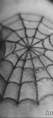 фото тату паутина на локте от 06.02.2018 №002 – tattoo spider web on elbow – tatufoto.com