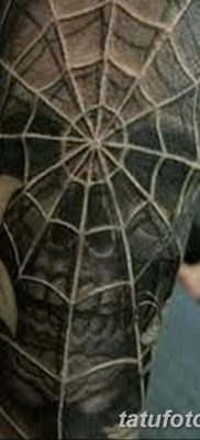 фото тату паутина на локте от 06.02.2018 №009 – tattoo spider web on elbow – tatufoto.com