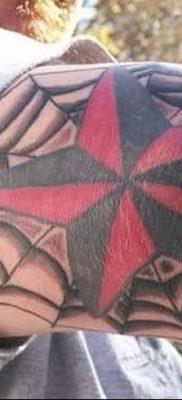 фото тату паутина на локте от 06.02.2018 №047 – tattoo spider web on elbow – tatufoto.com