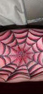 фото тату паутина на локте от 06.02.2018 №056 – tattoo spider web on elbow – tatufoto.com