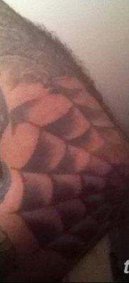 фото тату паутина на локте от 06.02.2018 №063 – tattoo spider web on elbow – tatufoto.com