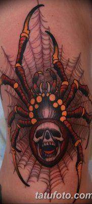 фото тату паутина на локте от 06.02.2018 №069 – tattoo spider web on elbow – tatufoto.com
