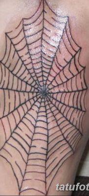 фото тату паутина на локте от 06.02.2018 №079 – tattoo spider web on elbow – tatufoto.com