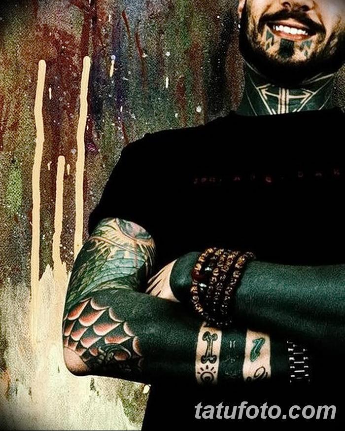 фото тату паутина на локте от 06.02.2018 №084 - tattoo spider web on elbow - tatufoto.com