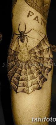 фото тату паутина на локте от 06.02.2018 №087 – tattoo spider web on elbow – tatufoto.com 26234
