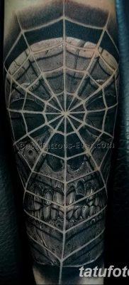 фото тату паутина на локте от 06.02.2018 №087 – tattoo spider web on elbow – tatufoto.com 26234 568