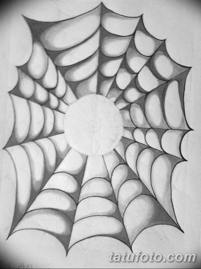 фото тату паутина на локте от 06.02.2018 №090 - tattoo spider web on elbow - tatufoto.com 4835426
