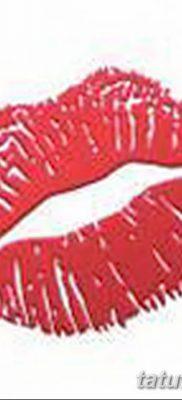 фото тату поцелуй от 21.02.2018 №007 – tattoo kiss – tatufoto.com