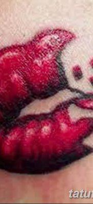 фото тату поцелуй от 21.02.2018 №043 – tattoo kiss – tatufoto.com