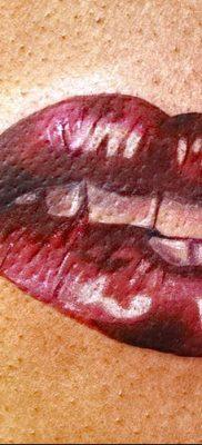 фото тату поцелуй от 21.02.2018 №056 – tattoo kiss – tatufoto.com