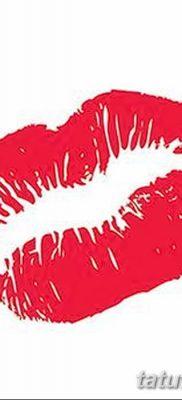 фото тату поцелуй от 21.02.2018 №062 – tattoo kiss – tatufoto.com