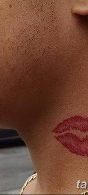 фото тату поцелуй от 21.02.2018 №079 – tattoo kiss – tatufoto.com