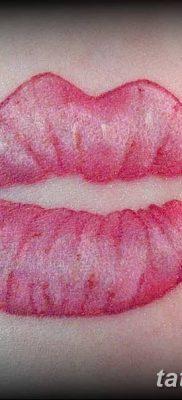 фото тату поцелуй от 21.02.2018 №086 – tattoo kiss – tatufoto.com