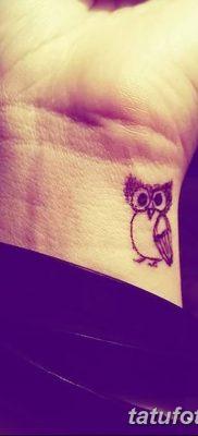 фото тату сова для девушек от 19.02.2018 №005 – owl tattoo for girls – tatufoto.com