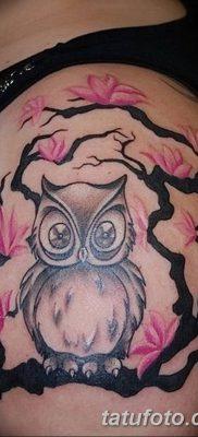 фото тату сова для девушек от 19.02.2018 №019 – owl tattoo for girls – tatufoto.com